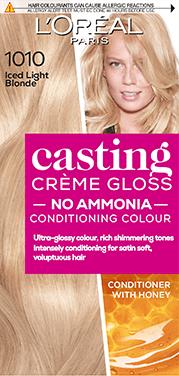 short hair blonde casting
